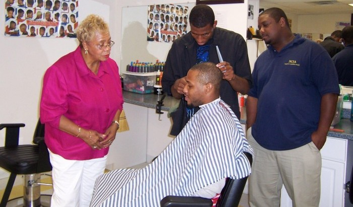 YIT's barbering vocational program provides students with a theoretical and practical understanding of the barbering trade – training them for employment in the field.