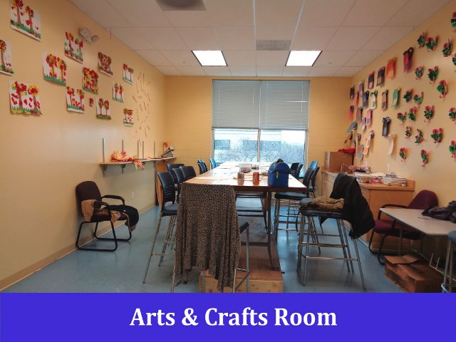 Arts & Crafts Room